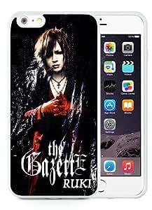 Case For iPhone 6 Plus,gazette White iPhone 6 Plus (5.5) TPU Case Cover