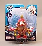 pet costume captain america - 4pcs/lot Mr Potato Head Figures Toy Mr. Potato Cosplay Avengers Captain America Spider Man Iron Man PVC Toys with Retail Box