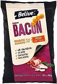 Snack de Milho sabor Bacon Sem glúten Sem lactose BeLive 35g