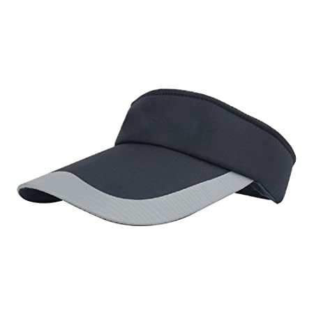 Hosaire Womens Sport Visor Cap Ladies Sports Tennis Golf Running Sun Hat  size 50cm-60cm (Dark Blue)  Amazon.co.uk  Kitchen   Home bc51c7d4b178