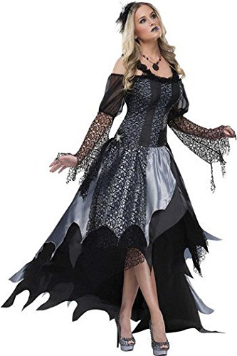 Spider Queen Costume - Large - Dress Size 12-14