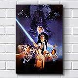 Placa Decorativa em MDF com 20x30cm - Modelo P285 - Star Wars