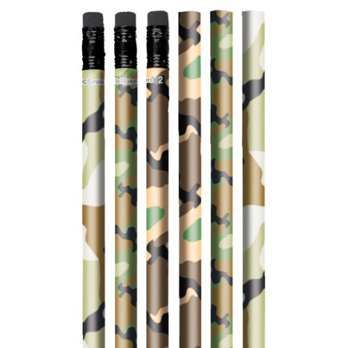 Camo Pencils - 50 per pack by SmileMakers (Image #1)
