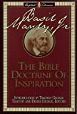 The Bible Doctrine of Inspiration, Basil Manly, 0805412514