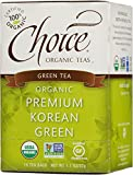 Choice ORGANIC TEAS Premium Korean Green, 1.15-Pound (Pack of 6)