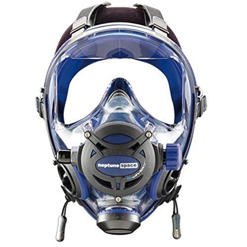 Ocean Reef Neptune Space G Full Face Mask Cobalt, - Full Face Mask Space Neptune