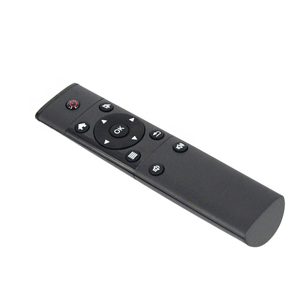 MU Vigica FM4S 2.4G 6axial inalámbrico de mano portátil de mando a distancia Sensores inerciales Air ratón para Smart TV IPTV Android TV Box: Amazon.es: ...