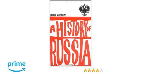 Amazon com: A History of Russia: New, Revised Edition (9780300002478
