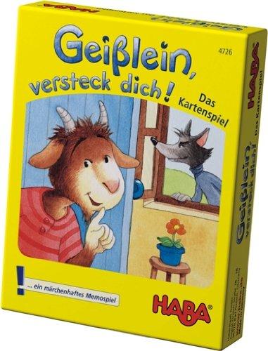 Desconocido Haba 4726 Geisslein, versteck dich! - Juego de ...