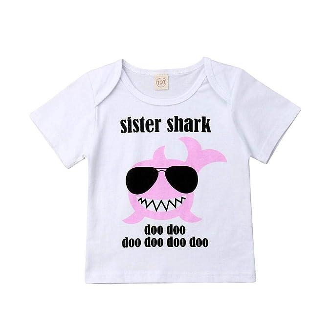 Amazon.com: Bebé Niños Niñas Bebé Tiburón Ropa Grande ...