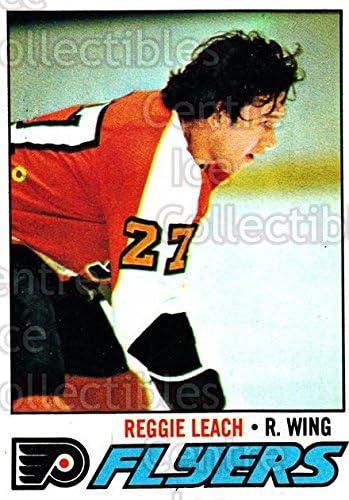 Reggie Leach Hockey Card 1977-78 Topps #185 Reggie Leach