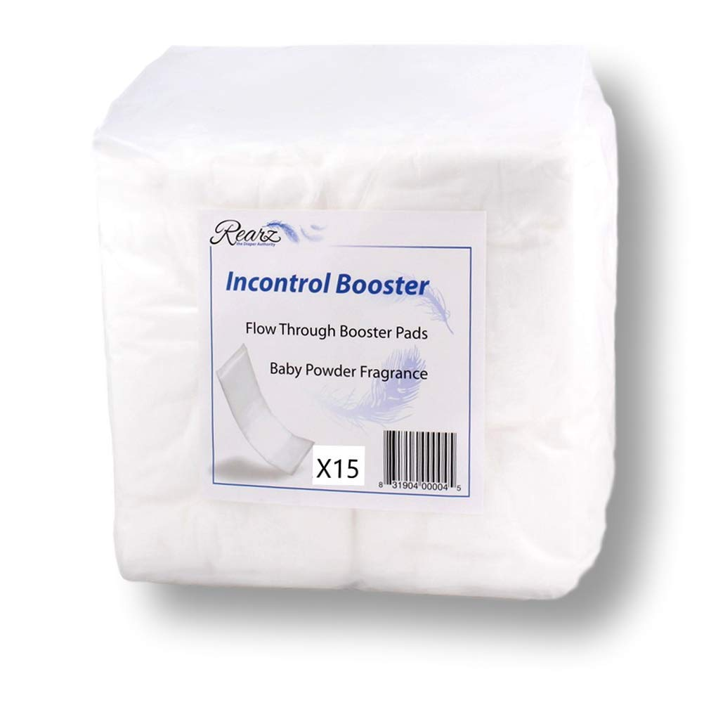 Rearz – InControl – Diaper Booster Pads (15 Pack)