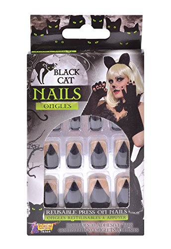 Forum Novelties Black Cat Nails -