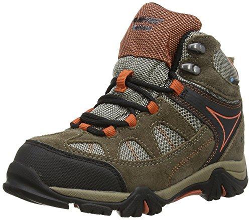 Hi-Tec Altitude Lite I Junior Waterproof - Zapatos de High Rise Senderismo Unisex Niños Braun (Smokey Brown/Taupe/Red Rock 041)