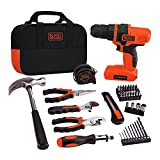 BLACK+DECKER LDX172PK Lithium Drill and Project Kit, 7.2-volt