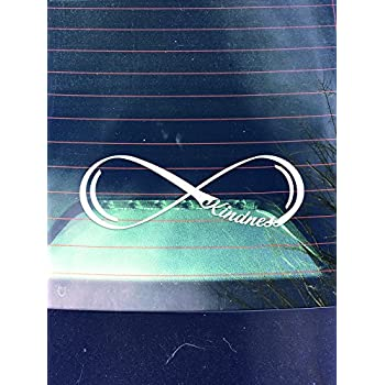 Kindness Infinity Decal Sticker7.5-Inches By 2.5-Inches
