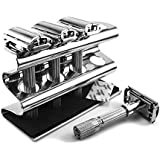 Razor Holder - Solid Stainless Steel - Highest Quality