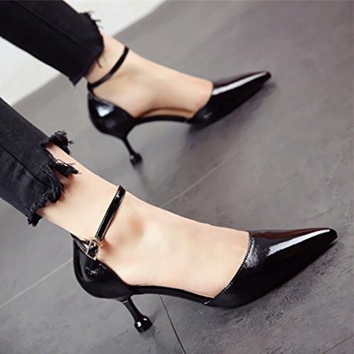 FLYRCX Frühling und Herbst gut und einfache Fashion High Heels Heels Heels 415a88
