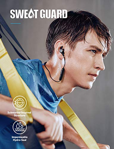 Wireless Headphones, Soundcore Spirit Pro Bluetooth Earbuds Anker Dual EQ, 10H Playtime, IP68 Waterproof, SweatGuard Technology, Hi-Fi Sound, Bluetooth Headset Mic Sports Gym by Soundcore (Image #1)