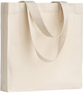 Augbunny - Bolsas de lona resistentes 100% algodón con cremallera, bolsos de hombro para playa o para la compra con bolsillo exterior, 2 unidades: Amazon.es: Zapatos y complementos