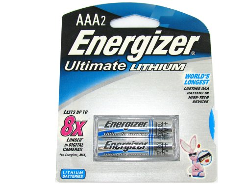 AAA e2 Lithium Battery Retail Pack - 2-Pack