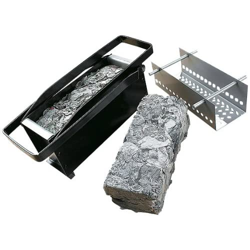 Great Ideas Paper Log Briquette Maker - Eco Green Way To Recycle Old Newspapers Into Logs for Your Fire / Fireplace