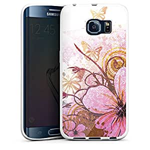 Samsung Galaxy S2Funda Premium Case Protección cover mariposa flor flores