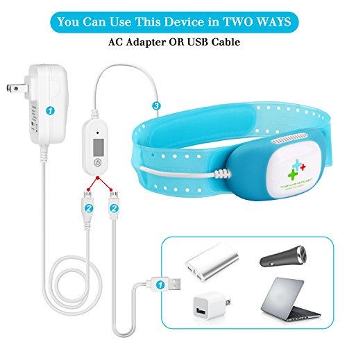 Fitnate Smart Physical Fever Cooling Apparatus Cold Therapy Apparatus Fever Patch for Kids and All Ages, Fever Reducer Cold Eye Mask Brain-Protect Eye-Care Fastest Cooling Technology
