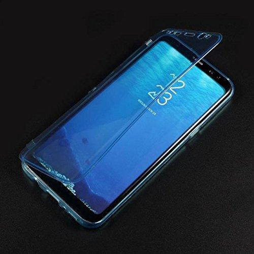 Caja del teléfono de TPU protector para Samsung Galaxy S8 Plus G955 baby-blue
