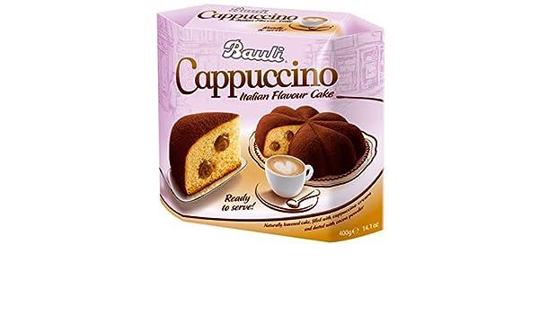 Crédito antes de la fecha Cake Bauli Italian Cappuccino con leche y chocolate relleno de crema, levadura italiano para Navidad, Navidad para tartas, ...