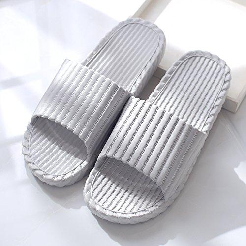 e soggiorno Home in da maschio estate Grigio2 slittamento plastica pantofole bagno cool anti coppie spesso femmina ciabatte indoor pantofole DogHaccd bagno estate le Il SFZYSqPT