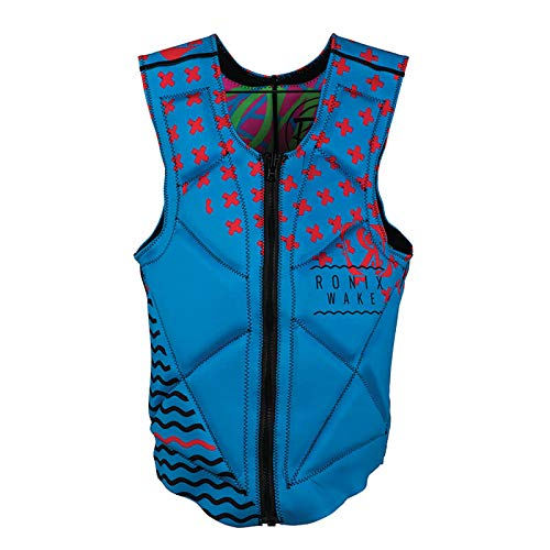 Ronix Party Athletic Cut - Reversible Impact Jacket - Pink/Blue/Red - XL (2019)