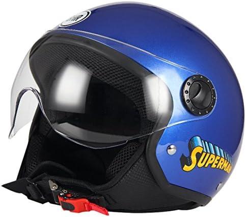 Bhr Motorradhelm Demi Jet One 801 Xl Superman 801 Auto