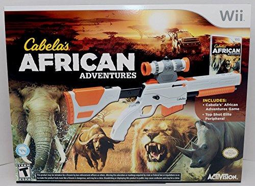 Wii Cabela's African Adventures Bundle with Gun from Cabela's African Adventures