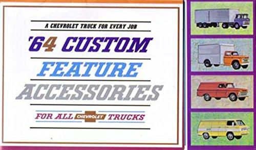 - 1964 Chevrolet Truck Accessories Sales Brochure Literature Book Piece Options