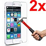 Graphic4You Tempered Glass Screen Protector for Apple iPhone SE / iPhone 5 / iPhone 5S / iPhone 5C (Pack of 2)