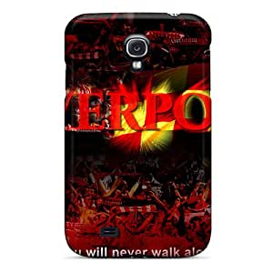 S4 Scratch-proof Protection Cases Covers For Galaxy/ Hot Famous Liverpool Phone Cases