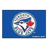 FANMATS MLB Toronto Blue Jays Nylon Face Starter Rug