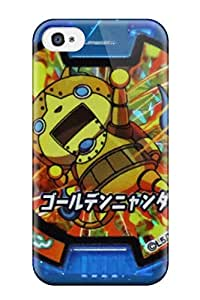 New Fashionable ZippyDoritEduard NjYNZXB5219pBTyq Cover Case Specially Made For Iphone 4/4s(youkai Watch Episode 25)