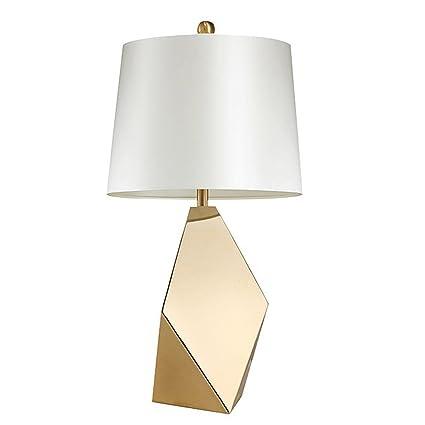 ZZW Lámparas de Mesa de Metal Irregulares de Estilo nórdico ...