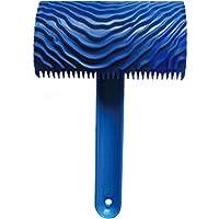 LOVIVER Herramienta Peine De Eje Balancín De Graining Pintura De Esmalte Scumble - Azul # 06