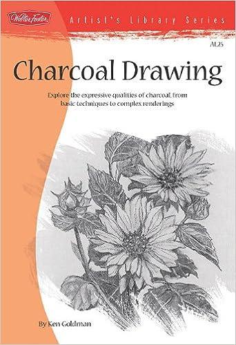 `WORK` Charcoal Drawing (Artist's Library). Alhama espero CONSEGUI author Illinois Through centro