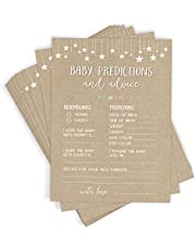 50 Baby Shower Game Cards