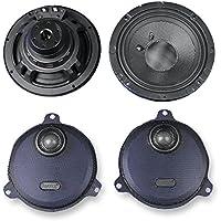 J&M Rokker XXR 6.71 Front Speaker kit for 2014 and Newer Harley-Davidson Ultra Classic and Street Glide models - HCRK-6712TW-XXR