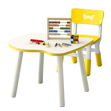 Amazon.com: Juego de mesa y sillas para niños, mesa y silla ...