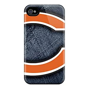 New Chicago Bears Tpu Skin Case Compatible With Iphone 4/4s