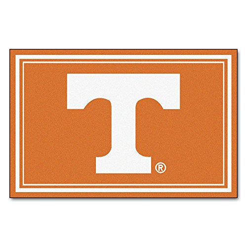 FANMATS NCAA University of Tennessee Volunteers Nylon Face 5X8 Plush Rug by Fanmats