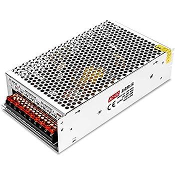 LEDMO Switching Converter Power Supply Adapter Transformer for LED Strip Light AC 100V/240V to DC 12V 20A 240W LED Strip Light Power Supply Switching Mode Converter