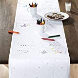 "Made in USA White Butcher Paper Roll 17.75"" x 1200"" (100ft) Ideal for BBQ Smoking Wrapping of Meat of All Varieties, Table Runner, Painting and Craft"