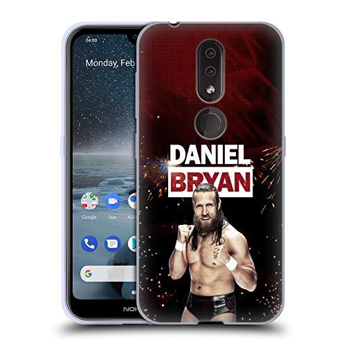 - Official WWE LED Image Daniel Bryan Soft Gel Case Compatible for Nokia 4.2